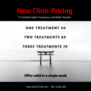 QiLin Acupuncture New Pricing